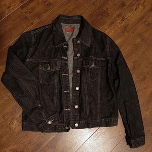 Roots Jackets & Coats - Roots Black Denim Jean Jacket Size Small